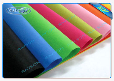 Full Color Range Fire Retardant Polypropylene Furniture Non Woven Fabric