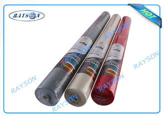 Shrink Film Packing Non Woven Tablecloth In Small Roll For Restaurant / Party