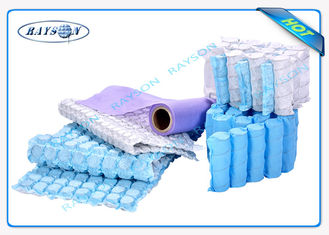 White / Black / Blue Color Good Strength PP Spunbond Non Woven Fabric for Mattress Quilting and Spring Cover