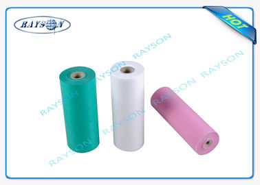 Anti - Bacterial Medical Non Woven Fabric Disposable Bed Sheet Roll