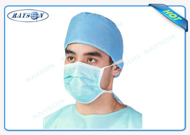 Surgical Usage Medical Non Woven Fabric For Disposable Face Mask With Funny Face