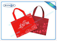 China Red PP Non Woven Bag Machine Insect - Proof Printing / Lamination company