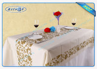 Disposable Tablecloth Made From Polypropylene Non Woven Fabric with Printing Design