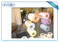 China Flower Packing Flushable Flame Retardant Non Woven Polypropylene Fabric Roll factory
