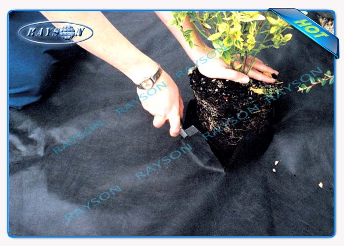 Air Permeability Non Woven Landscape Fabric For Garden / Agricultural Mulch Film