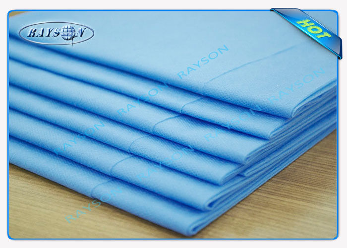 Nonwoven Medical Disposable Bed Sheets / Bed Cover Anti-Bacteria