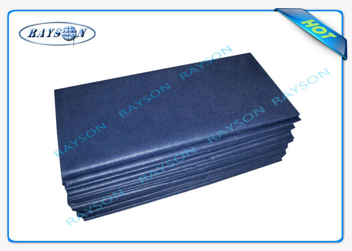 Eco - Friendly SS Non Woven Disposable Bed Sheet For Patient Bed / Beauty Salon