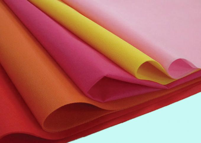 OEM Customized Printed Non Woven Fabric For Shopping Bags / Cleaning Towels