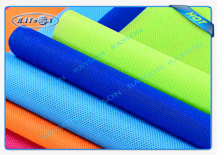 Environment Friendly PP Spunbond / Tnt Non Woven Geotextile Fabric