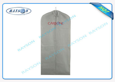 Foldable Long Handle Hanging Garment Storage Bags In Tessuto Non Tessuto Material