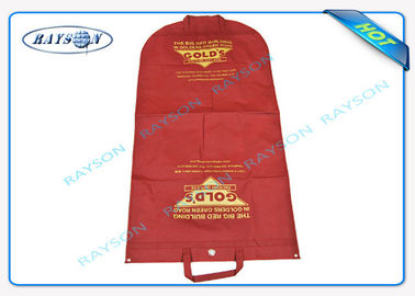 Durable 70gsm - 150gsm Printed Polypropylene Non Woven Suit Cover for Suit Dustproof
