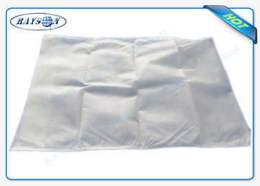 Nonwoven Airplane Pillow Cover CE and FDA Certificate 40 cm * 40 cm