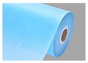 PP Non Woven Eco Friendly Blue Fabric , Textile Pillows / House Productions
