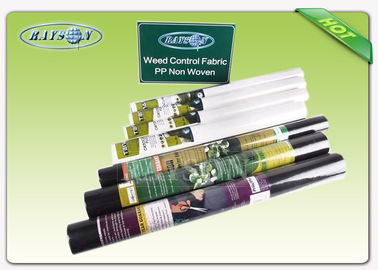 Agriculture Non Woven Garden Weed Control Fabric PP Spunbond Nonwoven Fabric with 3% UV