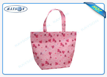Eco - Friendly PP Non Woven Bag , Non Woven Shopping Bag with Printing Patterns