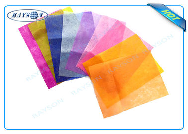 100% Virgin PP Spunbond Nonwoven 100cm For Flower Packing With Various Colors