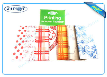 Full Range Color Customized Printing Patern PP Non Woven Fabric for Tablecloth