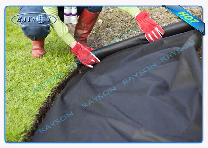 3% UV Protection 10 Year Guarantee Garden Weed Control Fabric Spunbond in Black Color