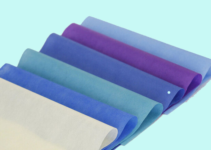 Multi Color Polypropylene PP Laminated Non Woven Fabric Waterproof